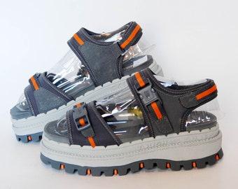 d52bd319e2 Skechers Jammers platform sandals japanese 90s vintage hiking chunky heel  y2k slip on womens summer shoes size US 7 8 9 10 sandals straps