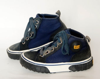 purchase cheap e4d40 3fdaf chunky sneakers Caterpillar CAT Shoes Comfortable Work vintage Walking  Hiking womens size eu 39 uk 6 us 8 90s work ugly shoes trail hi tops
