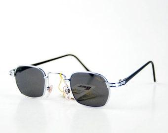 8f12b885cd matrix small sunglasses rectangle sun glasses y2k vintage retro eye wear  90s round club unisex sunglasses steampunk futuristic black len