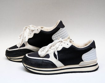 51f8b4a0f1b3e sport shoes vintage sneakers retro athletic shoes 80s 90s size   Etsy