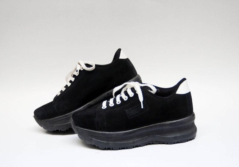4eef912a7477 Chunky sneakers vintage womens shoes platform sneakers 90s