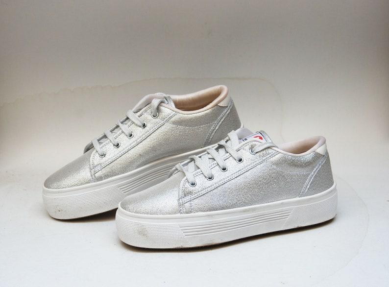 584878cf6a Platform shoes cosplay platform sneakers silver platform