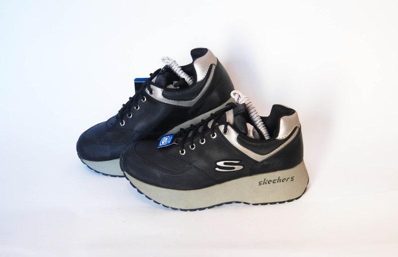 c5e5722981 Skechers shoes platform sneakers womens vintage platforms | Etsy