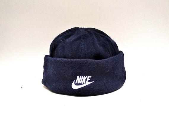f99f7898458 fleece hood vintage nike beanie for men women ski winter hat