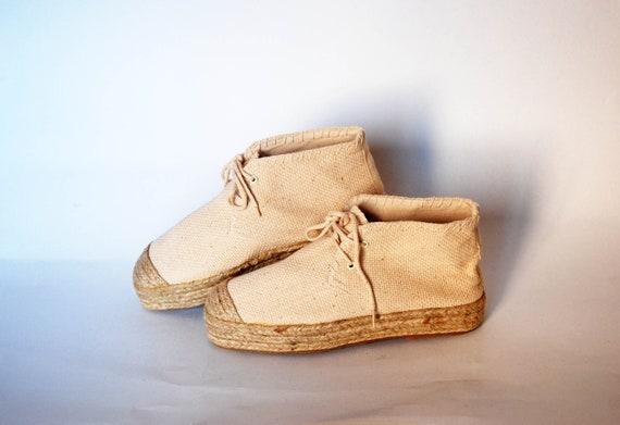 Espadrilles sandals platform women