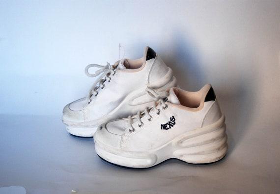 platform shoes vintage platform platform sneakers