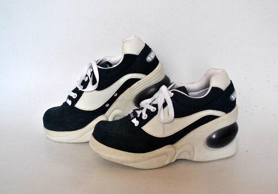 skechers shoes womens vintage platform size eu 38