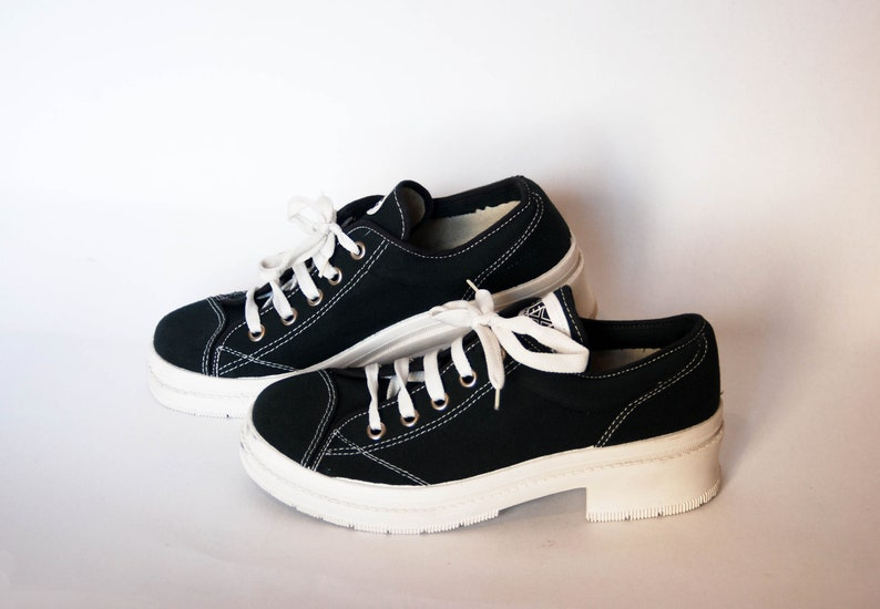 292c2337a42 Platform shoes womens vintage platform chunky sneakers