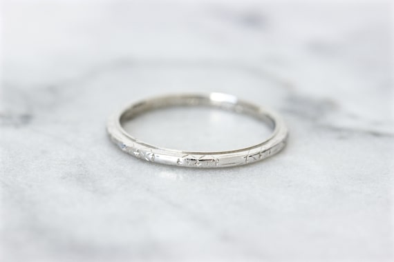Sterling Silver Bamboo Style Celtic Wedding Band 2mm Size 5 to 9