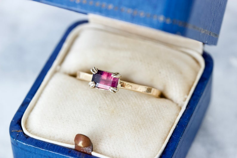 Unique Pink & Purple Natural Sapphire Handcrafted Bi-Colored image 0