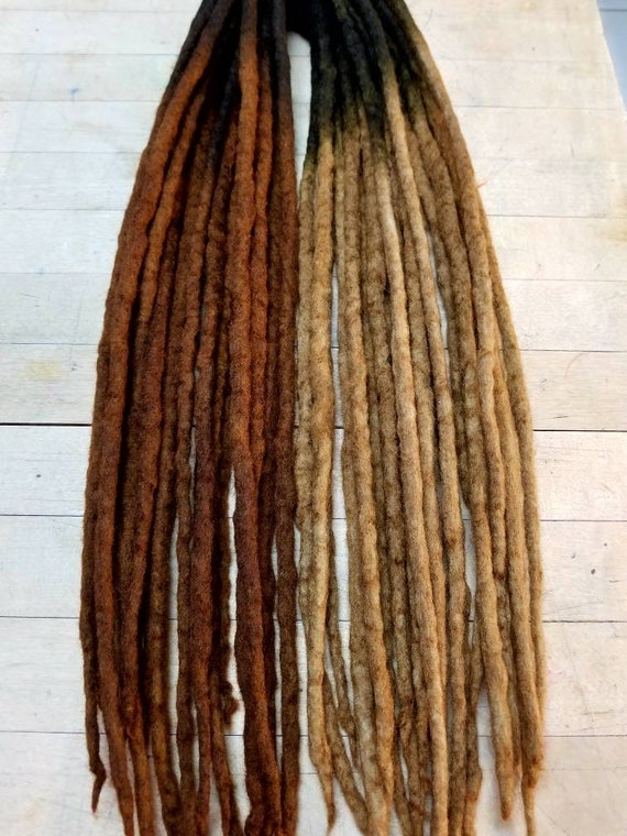 Wool Dreads Hair Extensions Wool Dreadlocks Bohemian Etsy