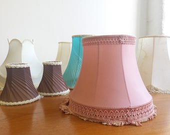 Retro lampshade etsy vintage lampshades retro lampshade collection of vintage lampshades shades various colours styles and sizes lampshade frames aloadofball Gallery