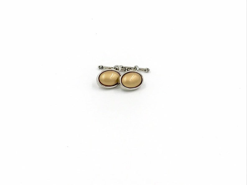 Men/'s Oval Cuff Links,gold and silver cuff links,button cuff links,men/'s cuff links,cuff links,handmade cuff links,gold cuff links,cufflinks