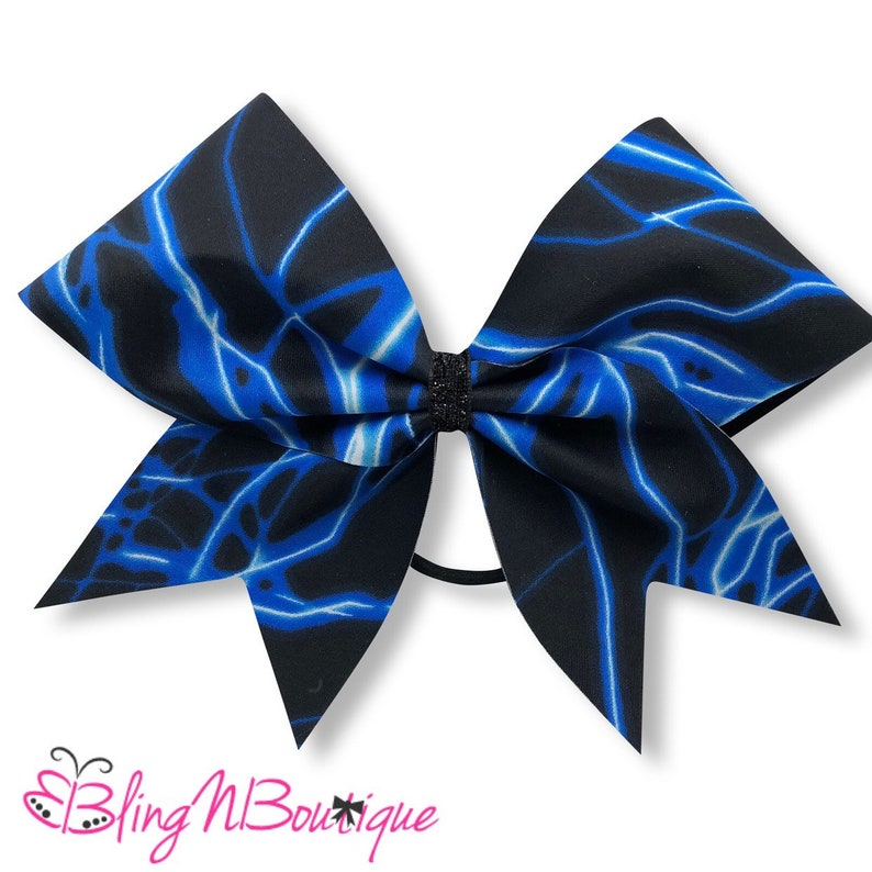 Electricity in Blue Cheer Bow