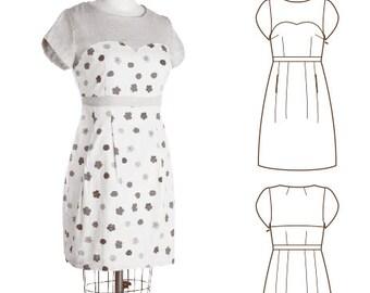 Colette Patterns Macaron Dress Sewing Pattern sizes 0 - 18