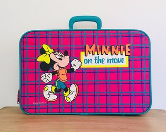 71fe0c902336 Vintage Minnie On the Move Disney Carrying Case Suitcase