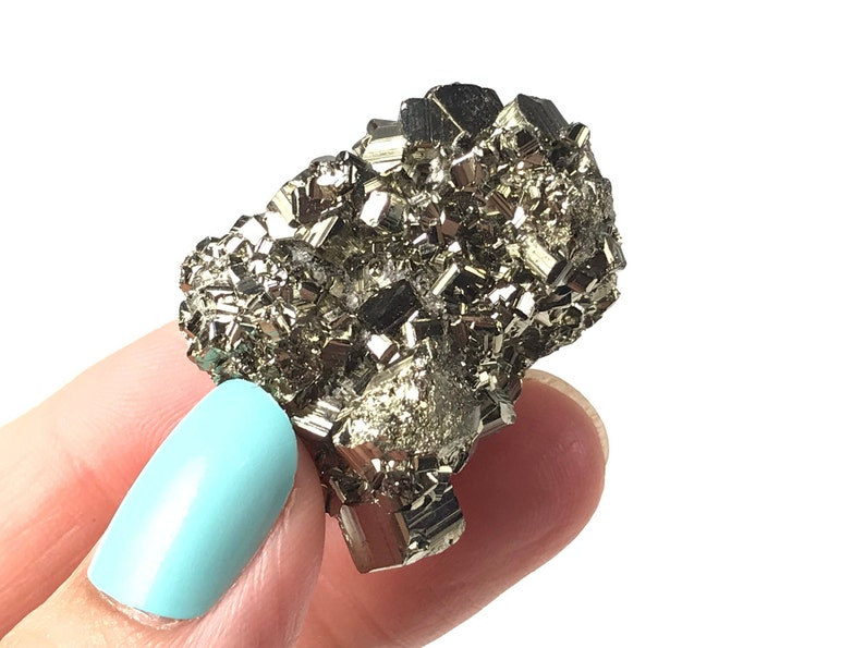 Pyrite Crystal  Enhance Willpower & Abundance Assertiveness image 0