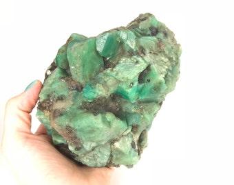 Amazonite High Vibration Crystal - Zagi Mountain, Pakistan - Activate the Throat Chakra & Communication, Express Your Truth
