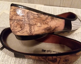 0e9f77010dd472 Lord of the Rings Classic Flats