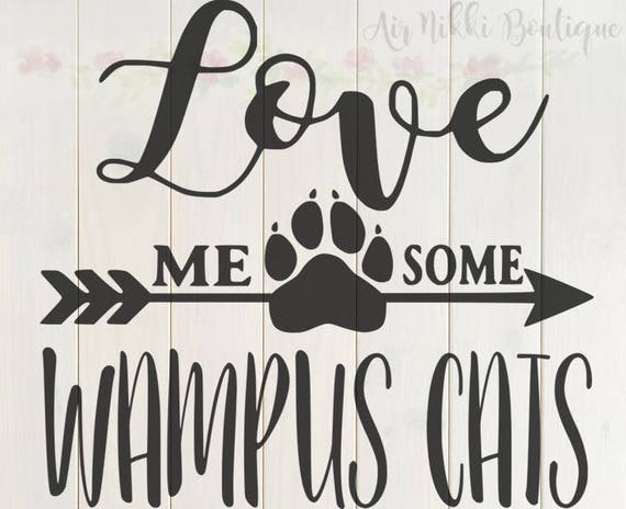 Wampus Cats Distressed SVG Files