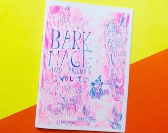Bark Mage and Friends Vol.1: Risograph Fantasy Comic Zine
