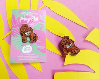 PangoPIN Weird Animal Club Pangolin Enamel Pin