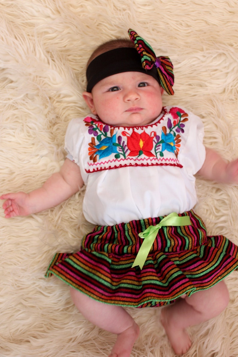 24-36 Months-Colorful Baby Toddler Mexican Girls Outfit-Embroidered Flowers-Summer-Boho-Fiesta Birthday Outfit-Frida Kahlo-Cake-Folk-Bow