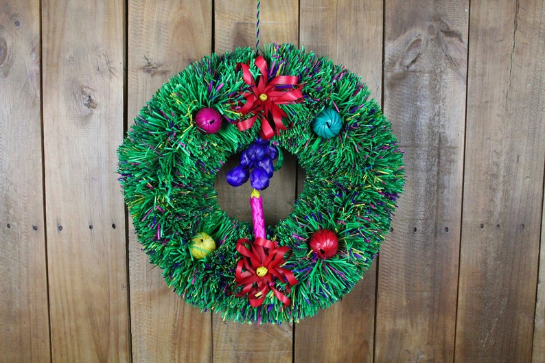 Hand Woven Palm Leaf Christmas Etsy