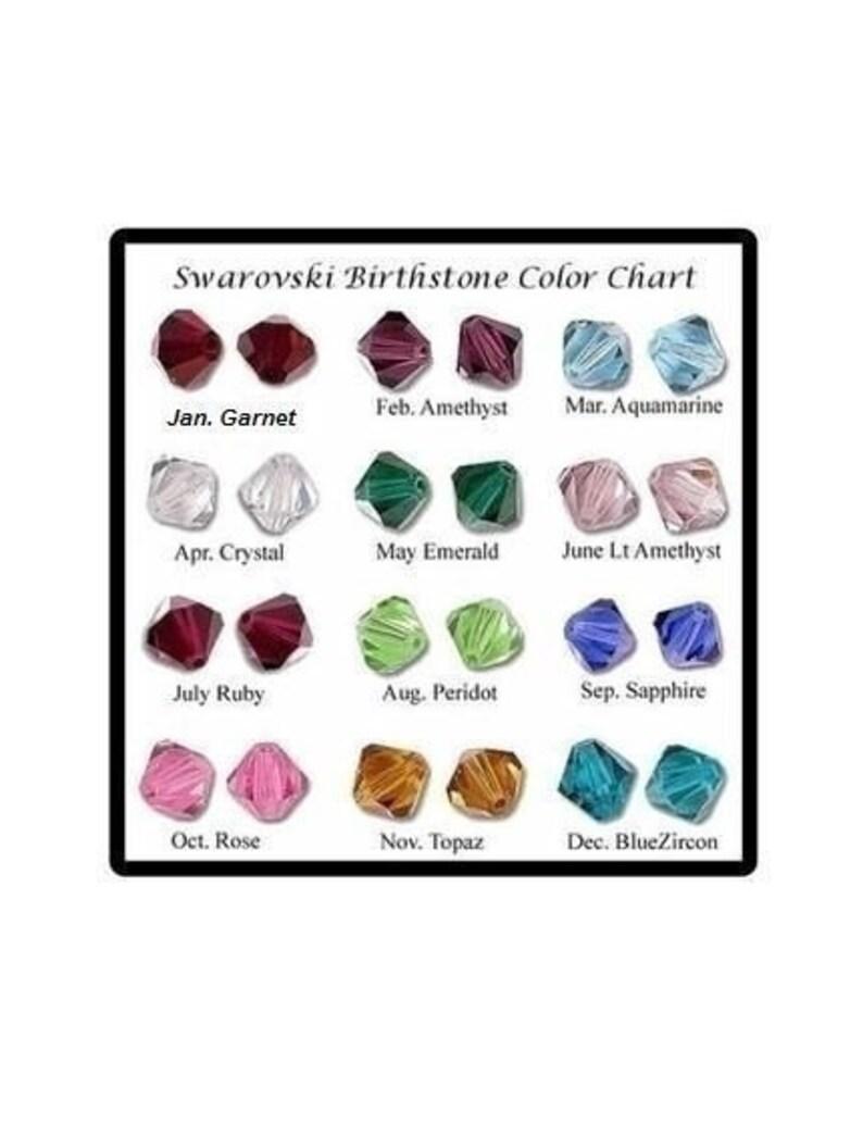 Swarovski Birthstone crystal image 0