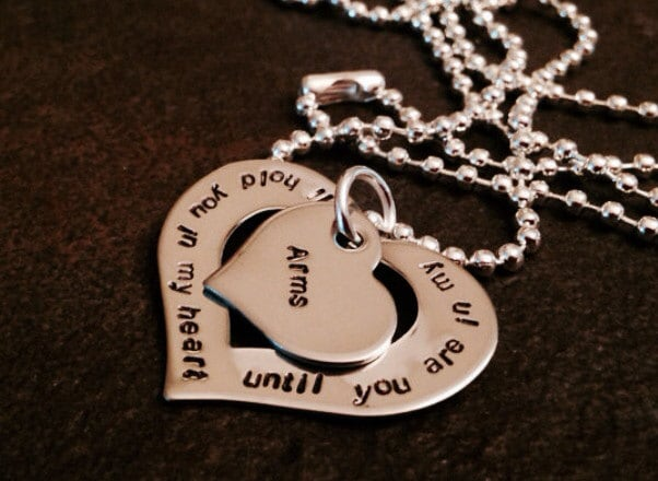 Ill Hold You In My Heart Until Youre In My Arms Mothers Necklace