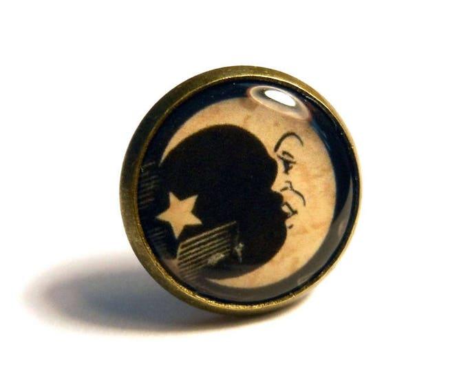 Ouija Board Moon Symbol Pin/Tie Tack