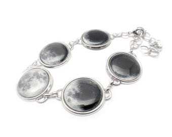Moon Phase Bracelet, Large