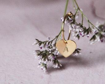Little hoops gold plated earrings