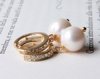 Pearls earrings