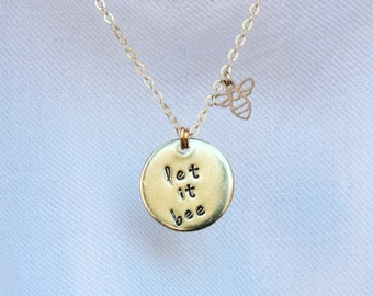 Let it bee Necklace