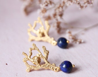 Little blue earrings