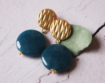 Blue earrings | Gemstone jewels