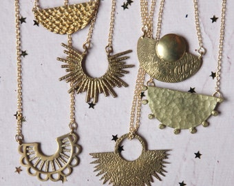 Here come the sun necklace