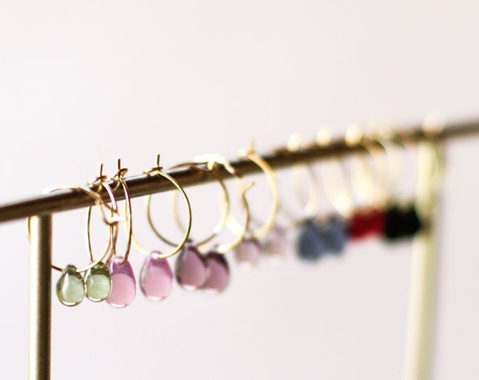 Featured listing image: Drop by drop | Mini hoops