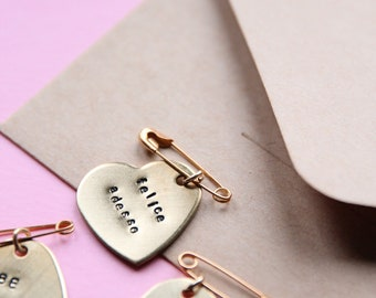 ON SALE Brooche not personalized