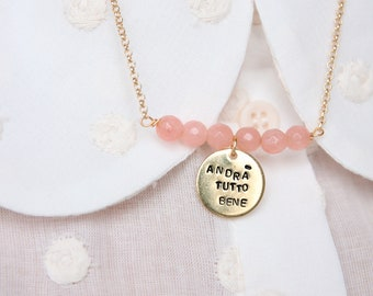Andrà tutto bene necklace