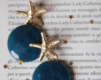 Blue earrings | Gemstone jewels