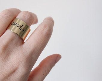 Brass ring Customizable