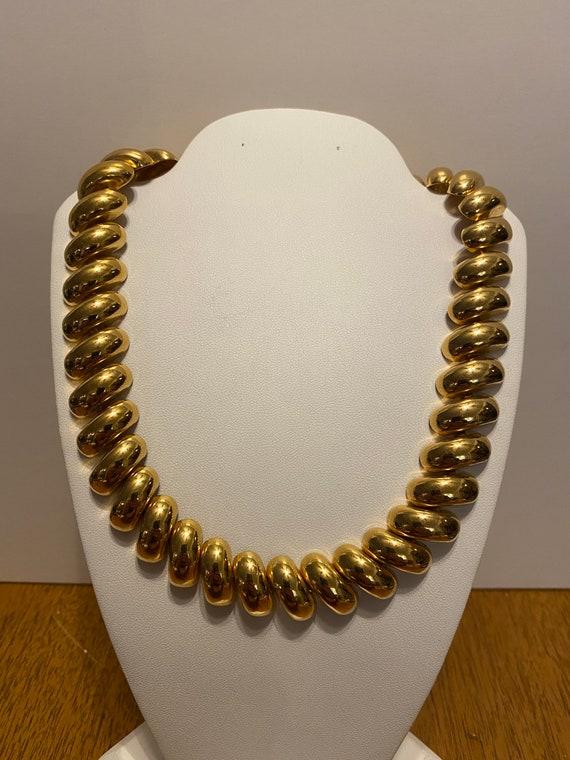 Vintage Napier Gold Tone Necklace