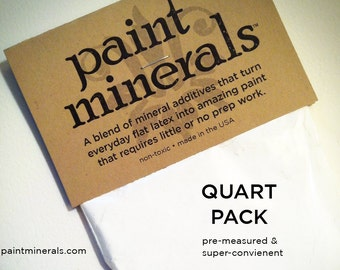 Paint Minerals™ Quart Pack for Int'l Shipping
