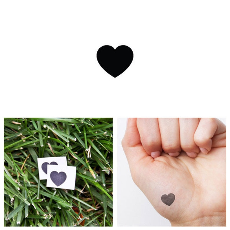It's Simple  Temporary Tattoo Set of 2 image 0