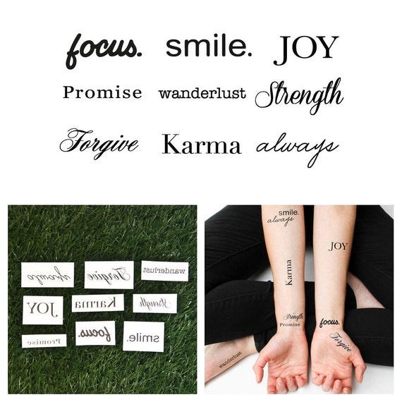 Tattify Inspirational Typography