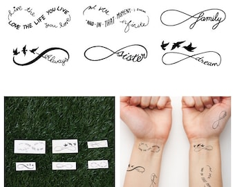 Sweet Nothings - Temporary Tattoo (Set of 12)
