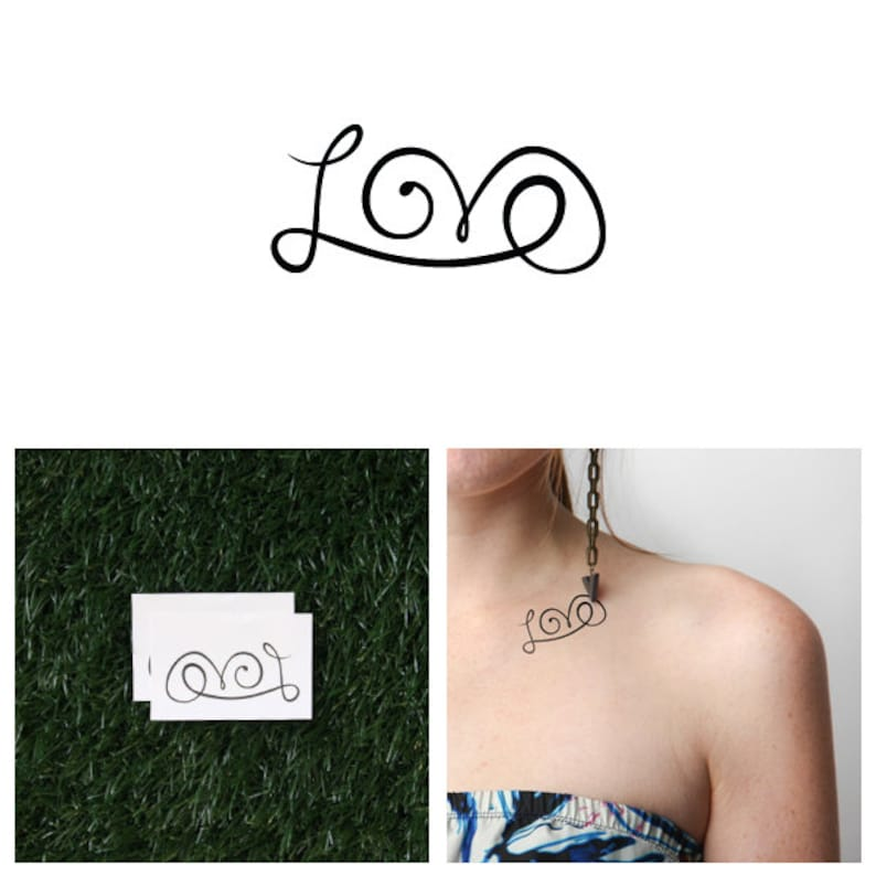 The L Word  Temporary Tattoo Set of 2 image 0