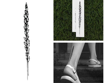 Delicate - Flower Temporary Tattoo (Set of 2)